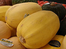 Spaghetti squash from Wikipedia
